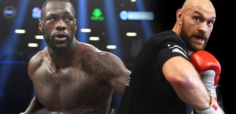 Eddie Hearn takes swipe at Tyson Fury and rubbishes possibility of Wilder fight