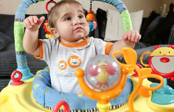 Heart transplant boy who had 1% chance of survival celebrates his first birthday
