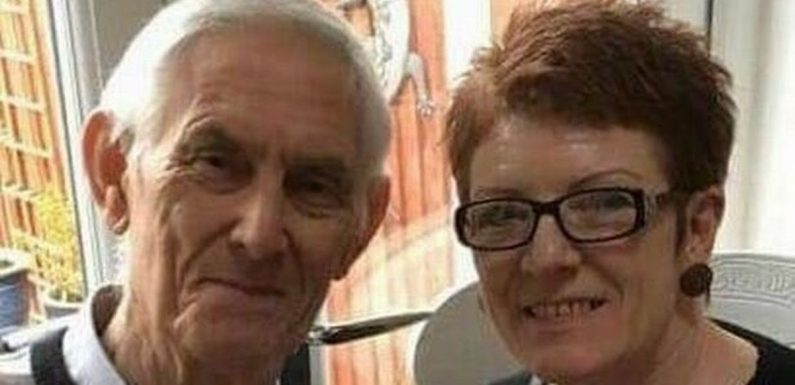 Thieves trample widow's sympathy cards and steal photos of husband