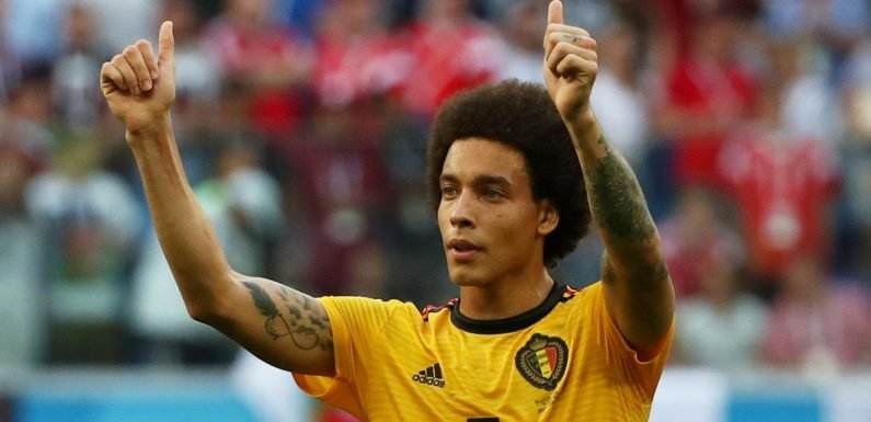 Tianjin boss gives update on Axel Witsel to Manchester United transfer