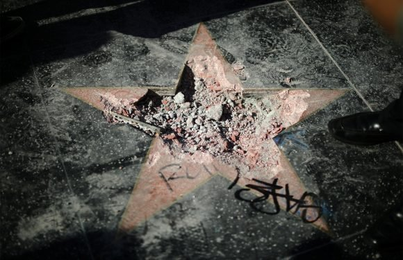 eBay takes down listing for piece of Trump's Walk of Fame star