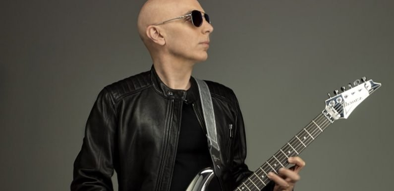 Guitar hero Joe Satriani reveals how he 'sustains the magic'