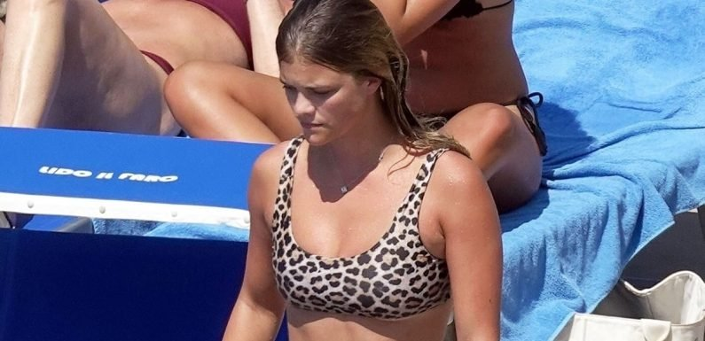 Nina Agdal's Leopard-Print Bikini Comes With the Cheekiest Little Bottoms