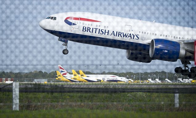 British Airways jet has TWO emergency landings in ten days