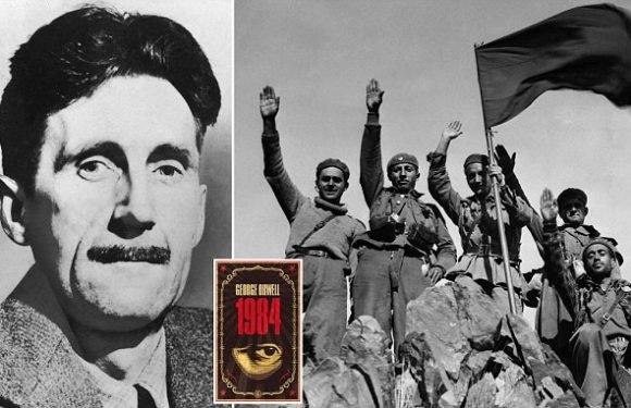 George Orwell died after catching tuberculosis from a hospital