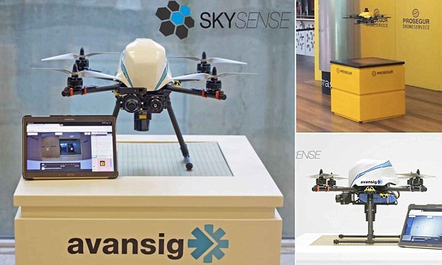 World's first indoor drone surveillance system announced
