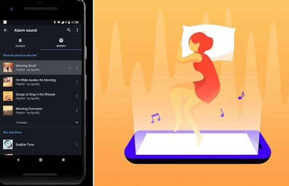 Spotify now lets you set your favourite song as an alarm