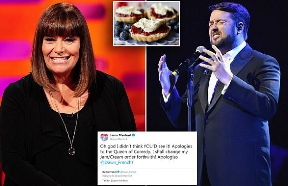 Comedian Jason Manford forced to apologise to Cornwall's Dawn French