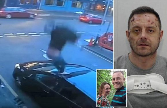 Drug addict stabbed girlfriend to death before leaping from window