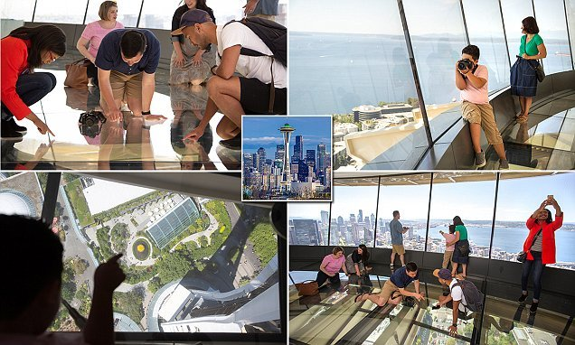Seattle's Space Needle to open a revolving glass floor from 500ft up