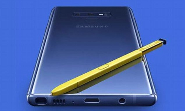 Samsung's own website just leaked the Galaxy Note 9