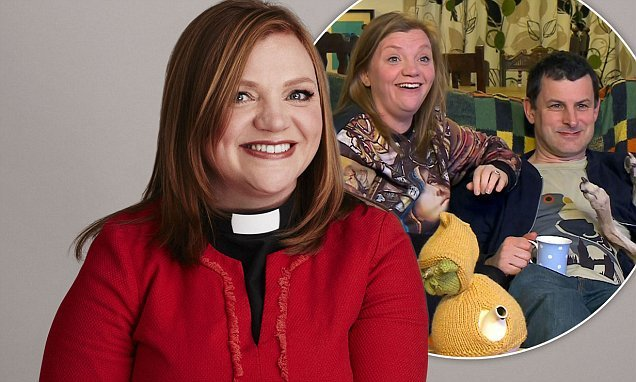 Gogglebox star Rev. Kate Bottley revealed she was groped at a funeral