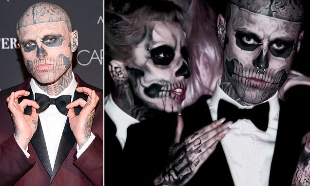 Family of Zombie Boy, 32, claim he accidentally fell to his death