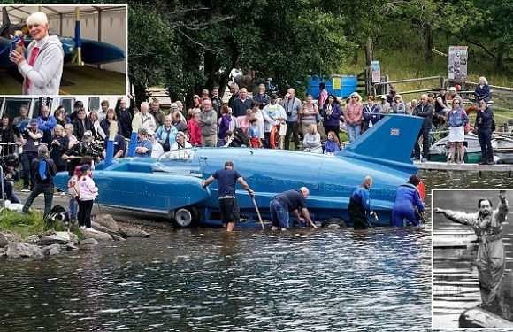 Record-breaking speed boat is back on water after more than 50 years