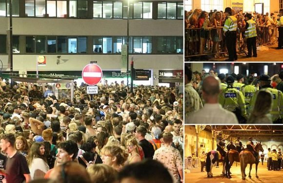 Chaotic scenes' as Brighton Pride revellers are left stranded