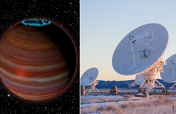 A massive rogue planet is wandering alone through the galaxy