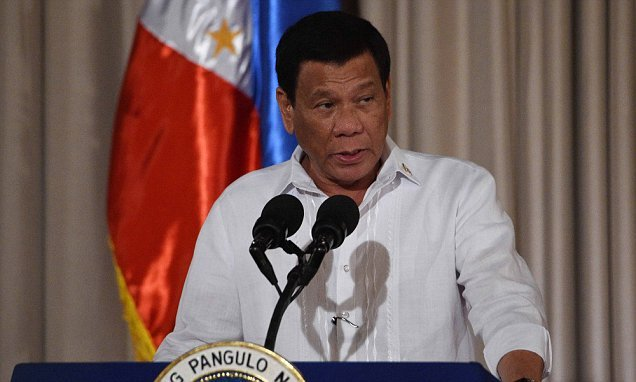 Duterte threatens to kill corrupt cops in live TV rant