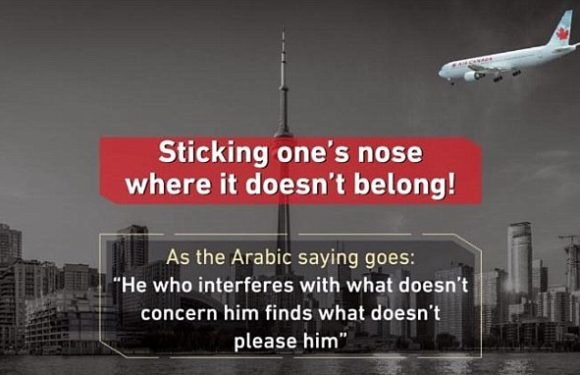 Saudi Arabia appears to threaten Canada with 9/11 style attack