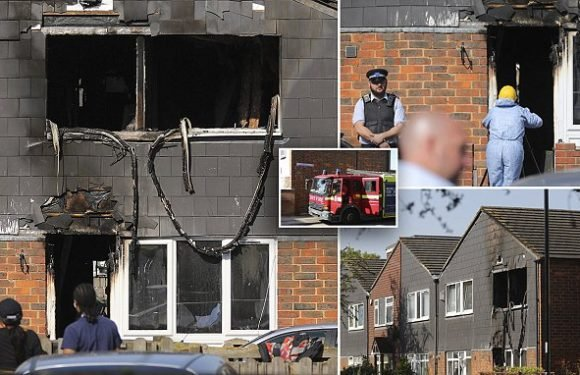 Boy is found dead in a 'suspicious' house fire in south-east London