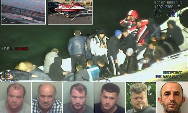 Hare-brained jet ski people-smugglers found guilty