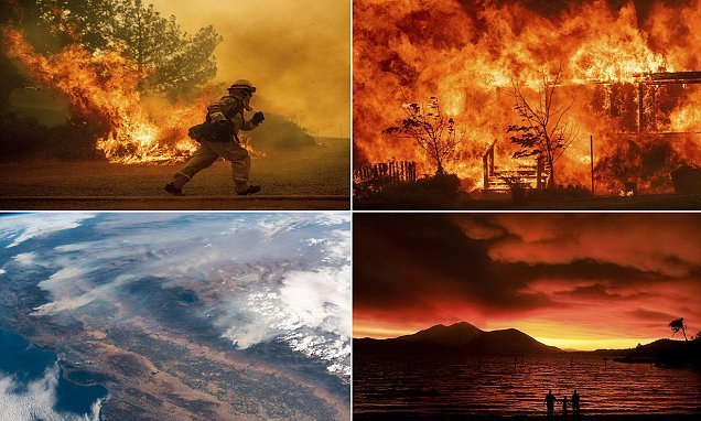 Inmate volunteers join firefighters to battle California wildfires