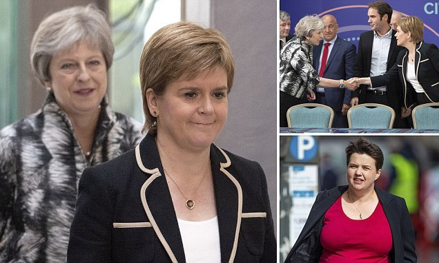 Nicola Sturgeon demands Theresa May reveals her Brexit Plan B