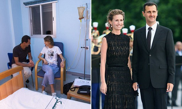 Syria's first lady starts breast cancer treatment