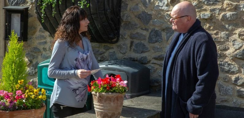 Emmerdale's Chas and Paddy make another massive decision about their unborn baby