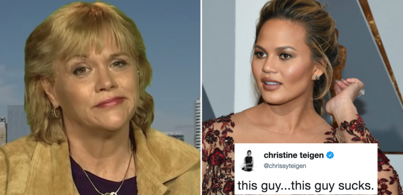 Chrissy Teigen's Comments About Thomas Markle's Interviews Set Samantha Off On A Twitter Rant