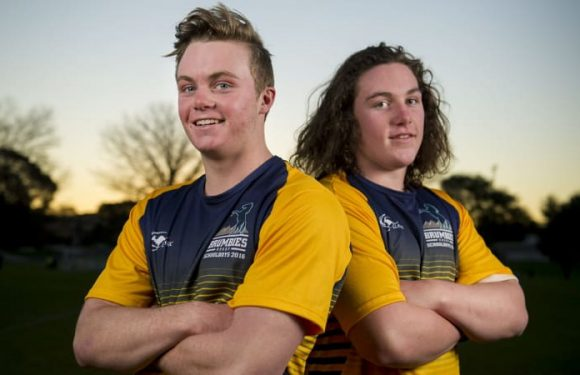 Brotherly love: Ryan and Lachlan Lonergan set to link on Brumbies deal