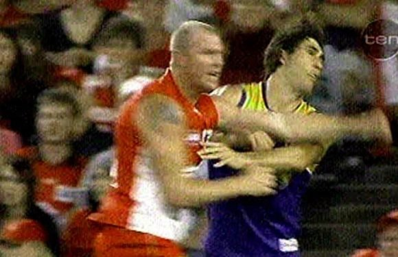 Gaff's crude hit as bad as Barry Hall on Brent Staker, says Ross Lyon