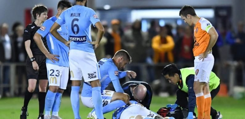 Brattan in hospital after FFA Cup clash