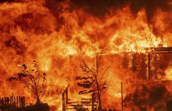 New fire erupts in California as thousands of homes threatened