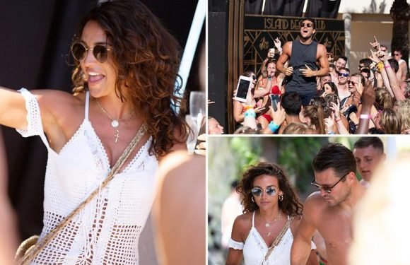 Mark Wright and Michelle Keegan send fans wild as they party in Majorca