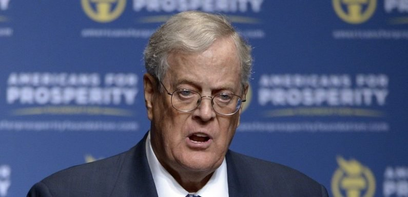 Beltway Republicans Worried About Losing Koch Money Before Midterm Elections