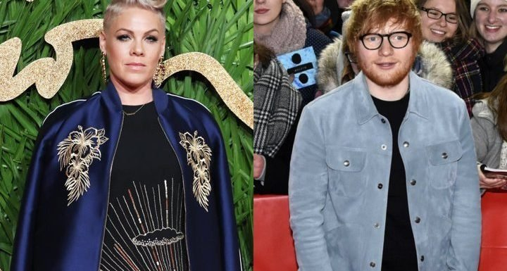 Pink and Ed Sheeran Join Forces to Help British DJ Propose