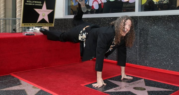 Weird Al Yankovic Gets Star on Hollywood Walk of Fame – See How Excited He Is