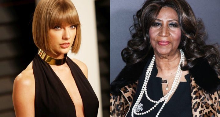 Taylor Swift Pays Tribute to Aretha Franklin at Detroit Show