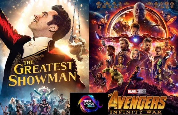 Teen Choice Awards 2018: 'Greatest Showman' and Marvel Films Dominate Movie Winner List