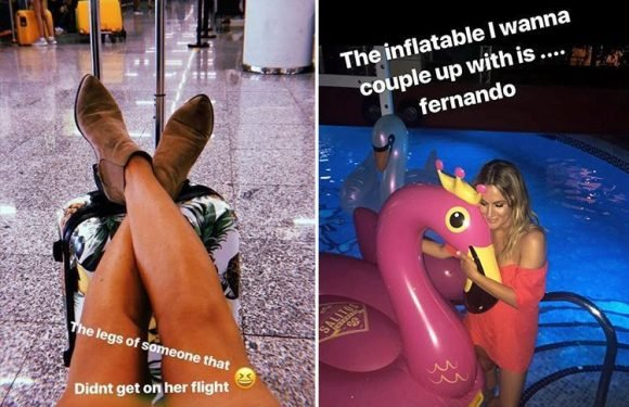 Caroline Flack reveals she missed her flight back to the UK after wild Love Island wrap party