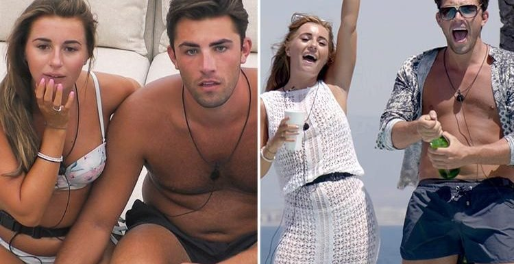 Jack and Dani set to win Love Island as bookies already pay out to punters who bet on them