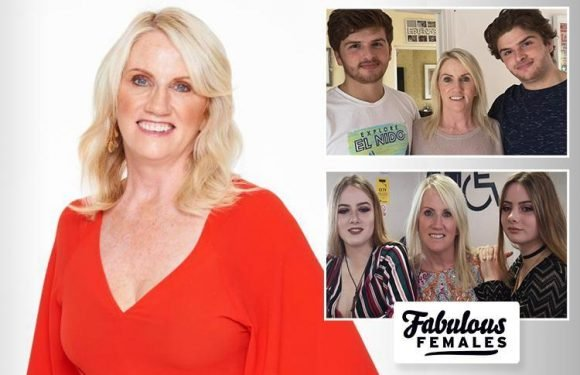 Caring Kim Jackson is a community hero and single mum to TWO sets of twins — making her this month's Fabulous female