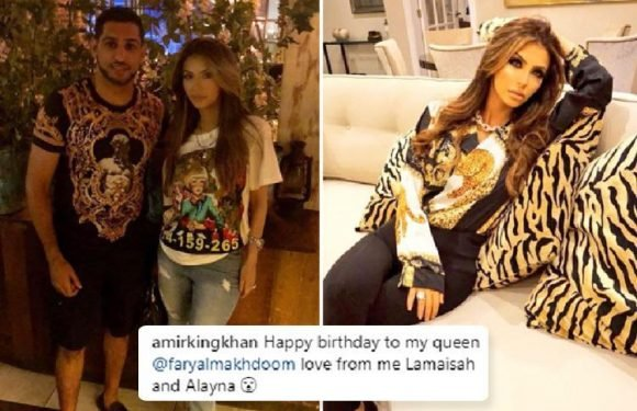Amir Khan treats wife Faryal Makhdoom to '£10k birthday spending spree at her favourite Chanel store' after cheating scandal