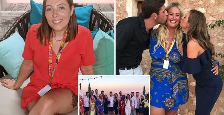 Love Island crew post behind the scenes pictures of wrap party and the show