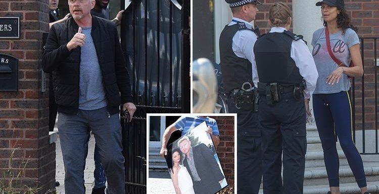 Police called to Boris Becker's home as estranged wife Lilly moves out following split