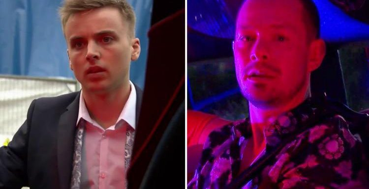 Hollyoaks shock as Harry Thompson finds Kyle Kelly alive at a sex party in a limo