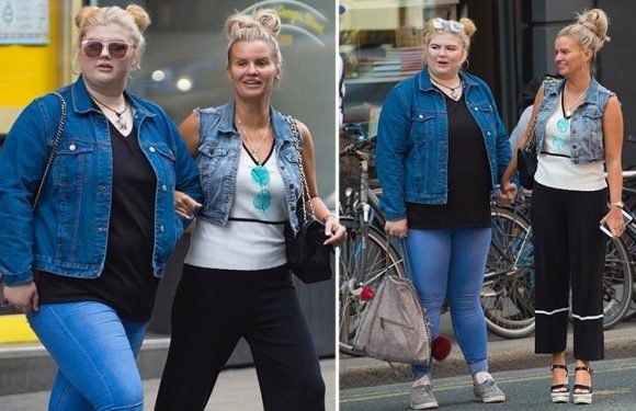 Kerry Katona reunites with daughter Molly for a shopping trip in Dublin after teen moved to Ireland