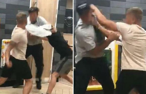 Humiliated mum of two boys filmed battering McDonald's worker posts grovelling Facebook apology
