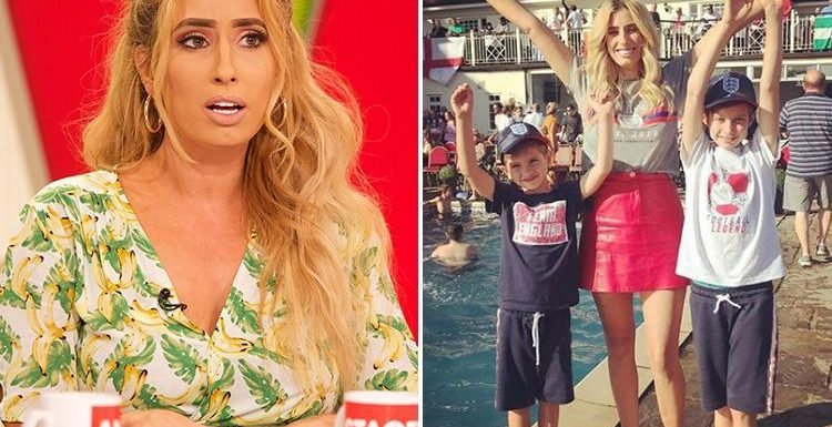 Stacey Solomon admits she took her son to a police station when his bad behaviour reduced her to tears