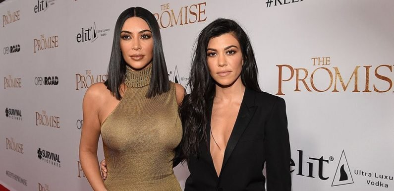 Kim Kardashian Calls Out Fan Who Shaded Her Over Being Mean To Sister Kourtney On 'KUWTK'